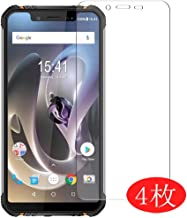 【4 Pack】 Synvy Screen Protector for HOMTOM ZOJI Z33 0.14mm TPU Flexible HD Clear Case-Friendly Film Protective Protectors [Not Tempered Glass] Updated Version