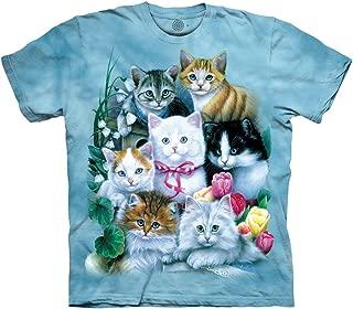 tie dye kitten shirt
