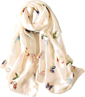 Best butterfly print scarf Reviews