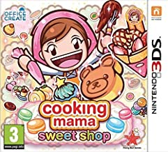Cooking Mama Sweet Shop 3DS Game