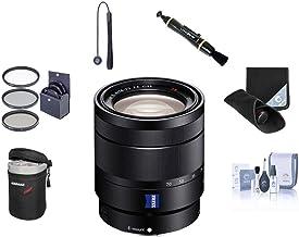 Sony Vario-Tessar T E 16-70mm F4 ZA OSS E-Mount Lens - Bundle w/Filter Kit (UV/CPL/ND2), Lens Wrap, Lens Case, LensPen, Cleaning Kit, Capleash