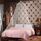 babytowns 250 * 60 cm Moskitonetz Groß Mückennetz,Insektennetz Betthimmel für Einzelbett, Feinmaschig Mesh,für Zuhause auch auf der Reise - 4