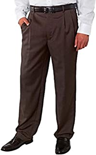 Kirkland Signature Men's 100% Wool Flat Front Dress Pants