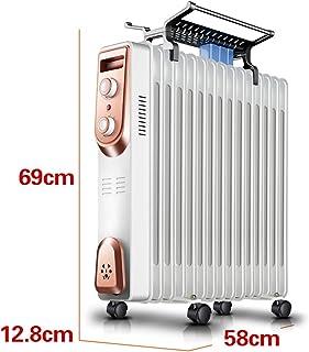 Radiador lleno de aceite blanco de 2000 vatios, hogar eléctrico, temporizador de habitación completa, calefacción, radiador, calentador de aceite, tabletas para el dormitorio, calentador de radiador,