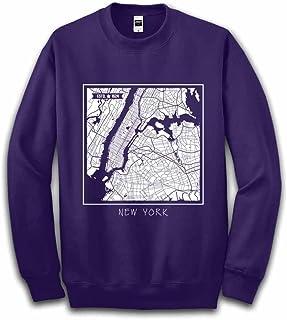 Fox Republic ニューヨーク メトロポリタン 地図 パープル キッズ スウェット 130cm