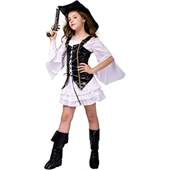 SEA HARE Disfraz Pirata Niña (S:4-6 años): Amazon.es: Juguetes y ...