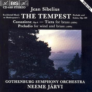 Sibelius: Tempest (The), Op. 109 / Cassazione, Op. 6