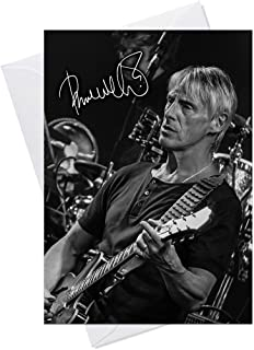 Paul Weller The Jam Style Council 3 - Quality Greeting Card for any Occasion (Birthday, Christmas, Thank you, Engagement, Anniversary etc)