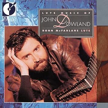 Dowland, J.: Lute Music (Mcfarlane)