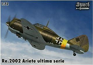 ソード 1/72 ドイツ空軍 レジアーネ Re.2002 ビス 戦闘爆撃機 アリエテII 最終シリーズ プラモデル SWD72086