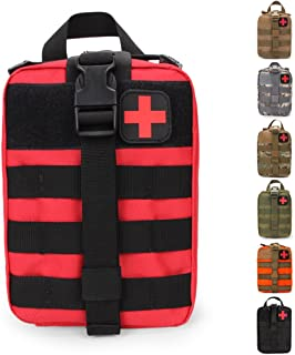HX OUTDOORS Tactical Molle Rip-Away EMT Medische EHBO-tas IFAK Lifesaving Pouch, Outdoor Medical Package, Mountaineering/k...