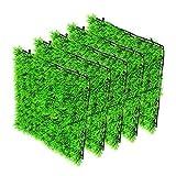 Haokaini 5 Unids Acuario Alfombra de Hierba Falsa Pecera Césped Artificial Césped Acuático Césped de Plástico Bajo El Agua Hierba Verde Paisaje Pecera Plantas Decoración 9. 8 Pulgadas