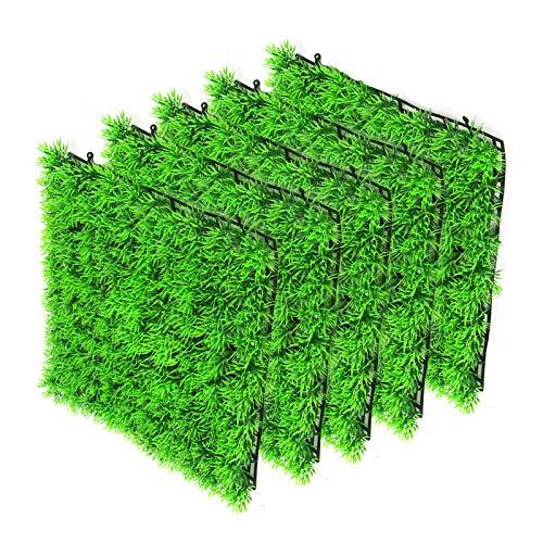 Petyoung Herbe sous-Marine Artificielle 5 Pièces Réservoir de Poissons d'herbe sous-Marine Herbe sous-Marine Aménagement Paysager Gazon Artificiel en Plastique Décoration D'aquarium