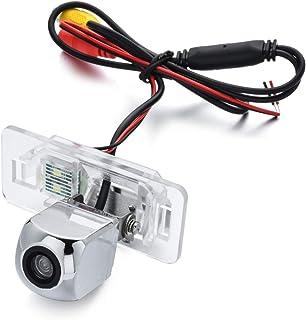aSATAH Chrome Starlight Car Rear View Camera for BMW 3 E46 E90 E91 E92 5 E39 E60 E61 X5 E53 E70 & Vehicle Camera Waterproo... photo