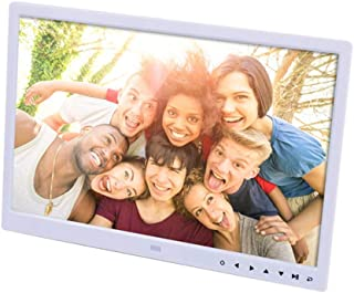 Digital Photo Frame 15 Inch Digital Picture Frame 1280 * 800 Pixels High Resolution Smart Electronic Frame Auto On/Off Tim...