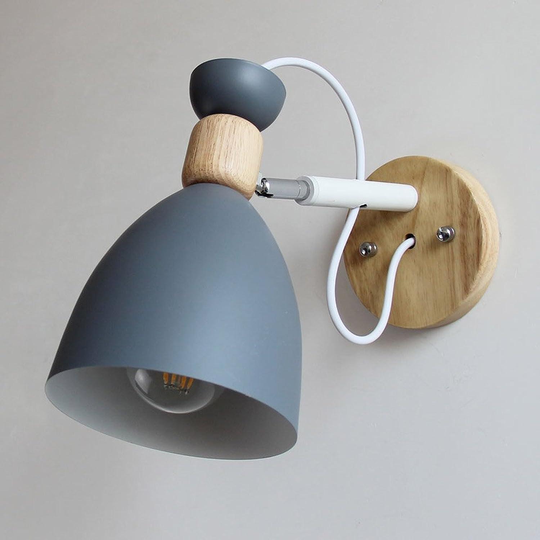 Leselampe Bett Holz Minimalistischen Nordic Wandleuchte