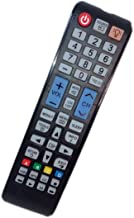 Replaced Remote Control Compatible for Samsung UN32F4000 UN39FH5000FXZA PN43F4500AF UN55EH6000FXZA UN58H5005AF LED HDTV PLASMA TV