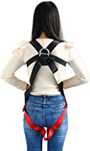 X XBEN Kids' Full Body Harness, Youth Safety Comfort Zipline Climbing Harness Belts for Outdoor Expanding Training, Caving Rock Rappelling Equip