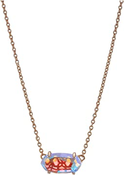 2b4577e55 Kendra scott harlie necklace gold iridescent opaque glass, Jewelry ...