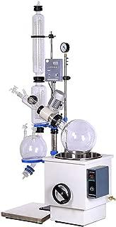 YUCHENGTECH 50L110V RE-5003 Rotary Evaporator Vacuum Vaporizer Rotatory Evaporator with Water Bath for Laboratory Condensation Crystallization (RE-5003(50L) Handwheel Lifting, 110V)