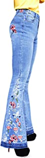 Best embroidered bottom jeans Reviews