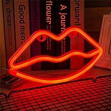 El Mejor Regalo Para Hombres Mujeres Ni/ños Utilizado para Dormitorio Sala De Estar Camping Picnic L/ámpara de modelado LED decoraci/ón del dormitorio luz nocturna creativa-Ne/ón de cinco colores