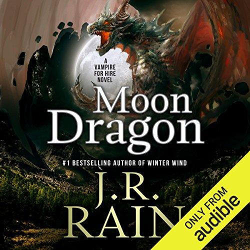 Moon Dragon audiobook cover art