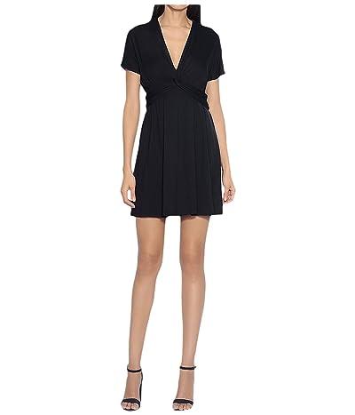 Susana Monaco Twist Front Dress (Midnight) Women