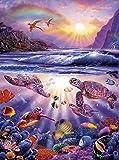 Buffalo Games - Marine Color - Turtle Bay - 1000 Piece Jigsaw Puzzle