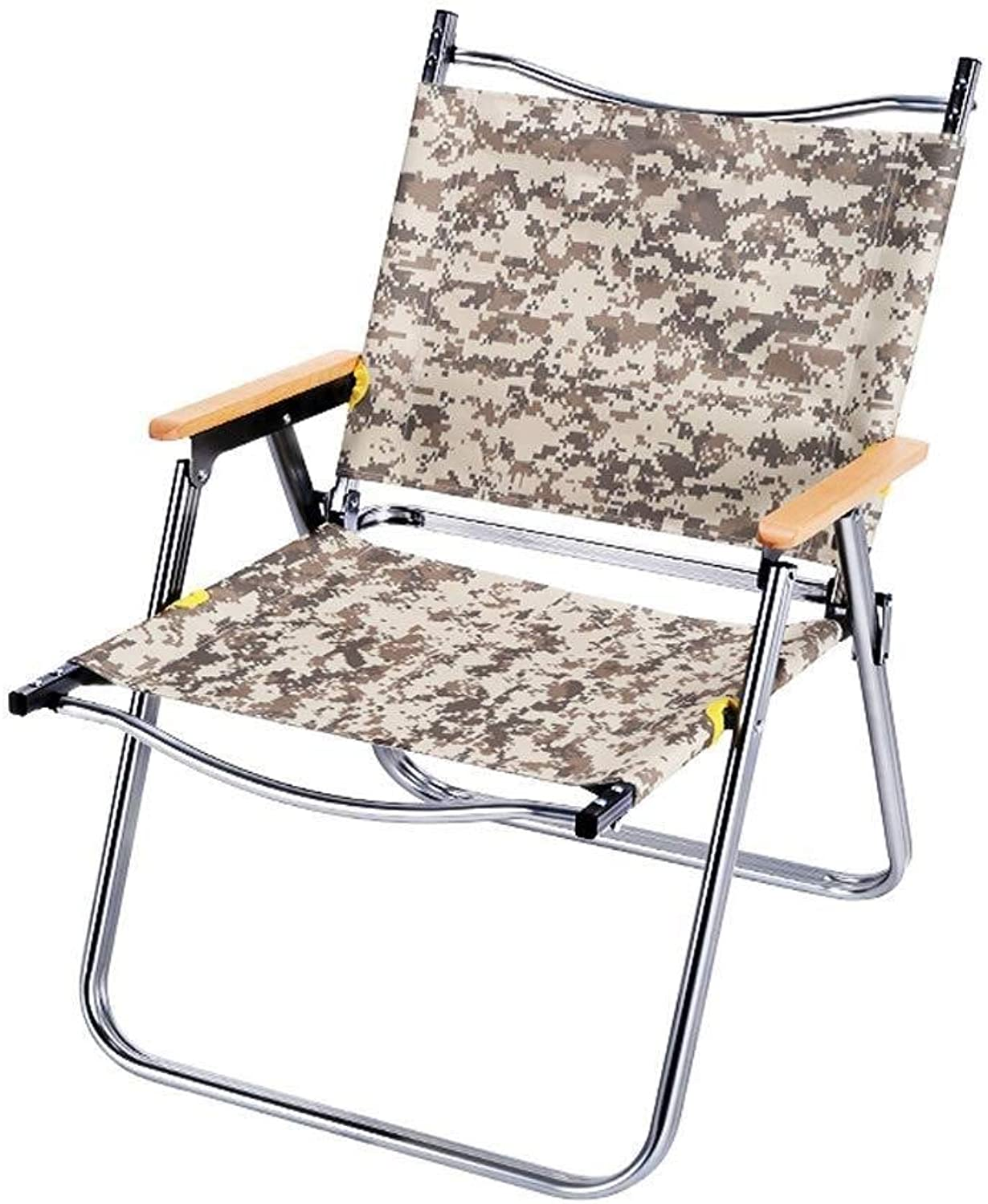 Folding Chair Simple and Ventilated Deckchair, Breathable Folding Recliner (color   Digital Camouflage)