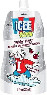 Icee Slush Pouches Case, Cherry Frost, 24 Count