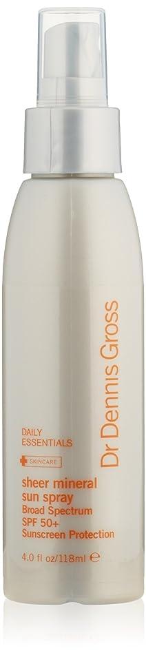 Dr. Dennis Gross Skincare Sheer Mineral Sun Spray Broad Spectrum SPF 50+ Protection, 4 fl. oz.