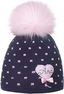 Taglia 3-5 Anni Ande Composto da Cappello e Sciarpa Set Invernale per Bambine