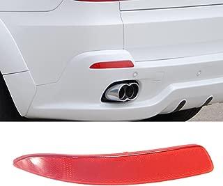 Ricoy Rear Left Side Bumper Cover Lens Lamp Reflector Housing Tail Warning Light For BMW X5 E70/71 2007-2013