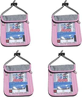 Cabana Sports Passport Holder (Pink 4 Pack)
