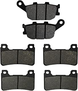 Road Passion Brake Pads Front and Rear for Honda CBR1000RR 2004-2005/CBR600RR 2005-2006