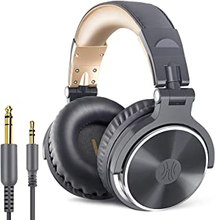 OneOdio Over Ear Headphone, Wired Bass Headsets with 50mm Driver, Foldable Lightweight Headphones with Shareport and Mic f...
