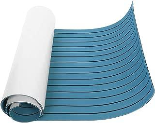 Sea Hardware Non-Skid EVA Foam Faux Teak Decking Self-Adhesive Boat Decking Sheet Marine Yacht RV Swimming Pool Boat Flooring Sheet