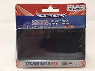 Techniweld Seer Solar Auto Welding Lens 2x4 Shades 9, 10,11, or 12