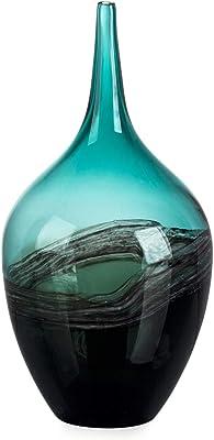 home goods decorative vases.htm amazon com collective design decorative glass  amber vase home  collective design decorative glass