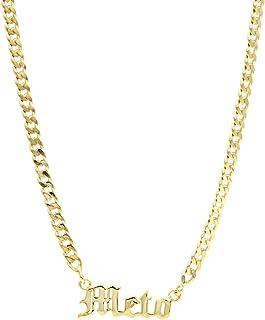 Collana con nome - Collana gotica Vintage - Gioielli veri - Gioielli da donna - Collana personalizzata