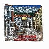 Innsbruck Tirol Österreich Kühlschrankmagnet Reise-Souvenir Geschenkkollektion Heimküche Dekoration Magnetaufkleber Innsbruck Österreich Kühlschrankmagnet