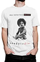 The Notorious B.I.G. Ready To Die T-Shirt, Biggie Smalls Hip-Hop tee