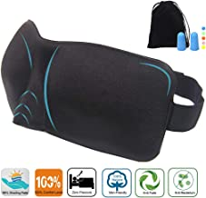 Paraller Comfy Sleep Mask Block Out All Lights Right for Good Night's Sleep, Premuim Quality Eye Mask Do Not Fade, Perfect Eye Cover for Sleeping, Travel, Shift Work and Naps