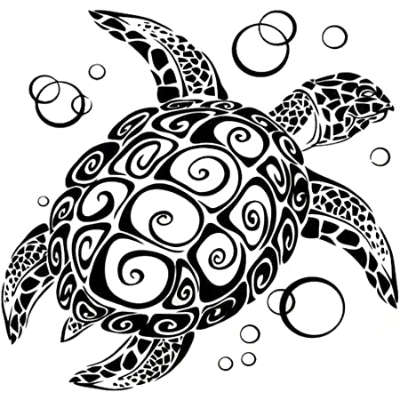 Sea Turtle Heart Vinyl Decal Sticker For Home Cup Mug Glass Wall Decor Choice