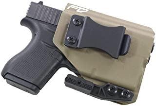 FDO Industries (Formerly Fierce Defender IWB Kydex Holster Glock 43 w/ TLR6 The Paladin Series -Made in USA-
