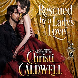 Rescued by a Lady's Love audiobook cover art