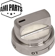 AEZ73453509 Range Burner Control Knob Compatible with LG & Kenmore Oven Stove Replacement Parts by AMI - Replaces AEZ72909008 AP5669773 2347547 PS7321756