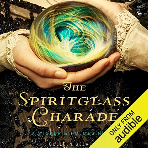『The Spiritglass Charade』のカバーアート