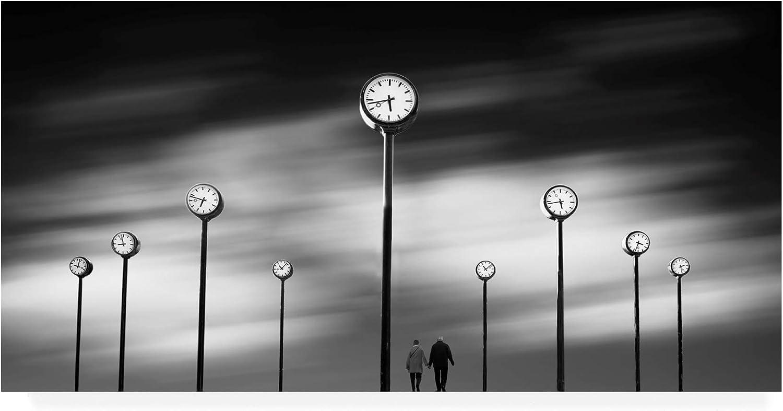Trademark Fine Art Time Panorama by Maurits De Groen, 10x19